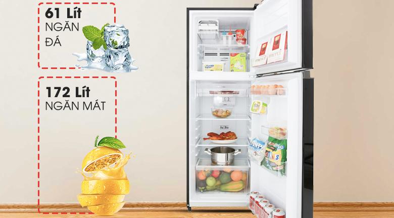 Tủ lạnh Toshiba: Thiết kế và hiệu suất